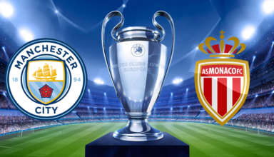 Manchester City vs Monaco UEFA Champions League 2016-17