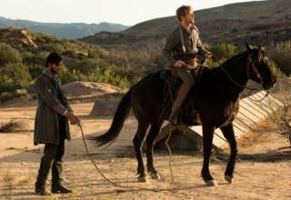 Jimmi Simpson as William in a still from Westworld season 1.