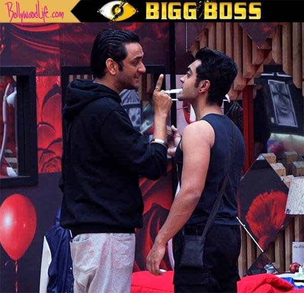 Priyank and Vikas hug and patch up