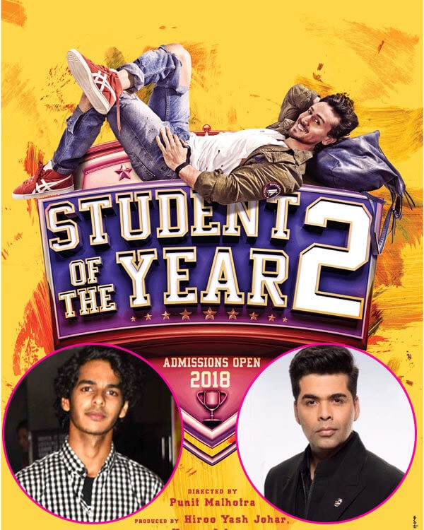 KJo clarifies Ishaan Khatter not part of Tiger Shroff's `SOTY 2`